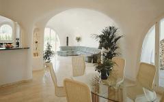 intérieur blanc design moderne contemporain