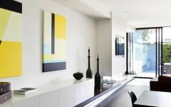 intérieur moderne art contemporain