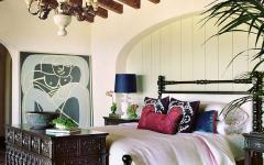 ambiance rustique chambre à coucher