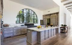 cuisine rustique placards bois massif maison