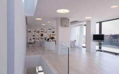 intérieur design contemporaine blanc maison moderne