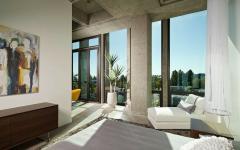 chambre design loft industriel