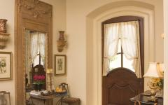 entrée maison familiale éclectique design rustique
