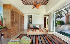Design chambre villa de vacances exotiques
