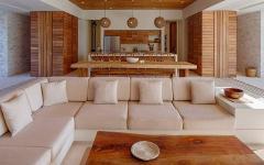assise canapé confort villa de luxe vacances