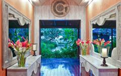 intérieur luxueux villa de vacances design