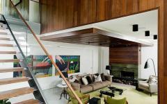 intérieur design chalet en bois maison secondaire