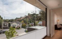 fenêtre coulissantes amovibles en verre maison de luxe