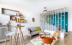 intérieur neuf refait petit appartement citadin