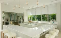 grande cuisine en blanc