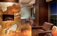 intérieur maison de vacances luxe