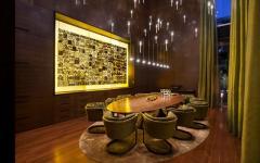 intérieur chic élégant design villa