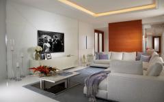 salon télé canapé design luxe