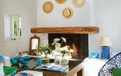 décoration rustique méditerranéenne villa
