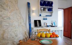 Intérieur rustique maison de vacances en Italie