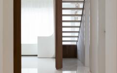 intérieur design contemporain futuriste épuré