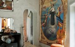ambiance artistique maison rustique