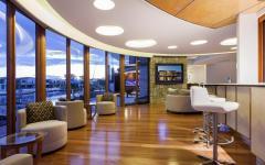 Intérieur moderne et luxueux maison de vacances