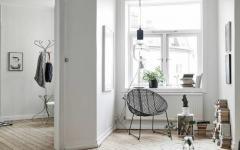 mobilier design minimaliste noir et blanc