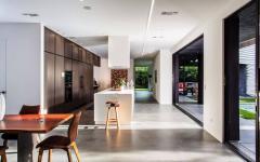 séjour intérieur maison de ville luxe standing