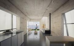 intérieur maison passive flottante