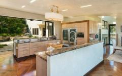 cuisine ouverte aménagée de luxe