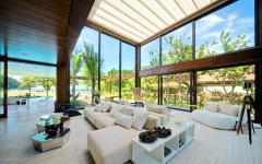 séjour lumineux mobilier de luxe design