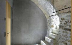 anciens murs en pierre maison