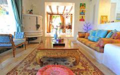 intérieur éclectique de luxe villa