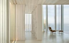 intérieur élégant design en blanc villa