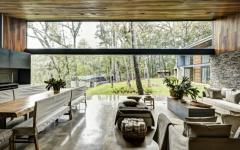 vue sur le jardin paysage maison rustique belle demeure