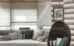 ambiance rustique retro maison en boi
