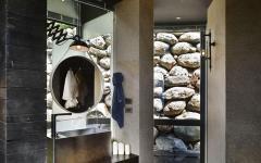 belle salle d'eau design rustique pierre
