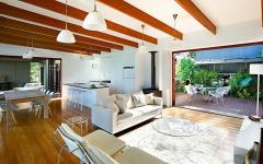 belle pièce maison moderne écologique