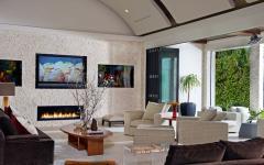 intérieur belle maison moderne exotique