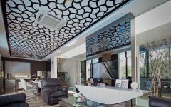 décoration plafond créative intérieur design maison luxe