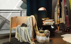 design intérieur petit appartement avec vue