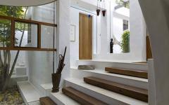marches originales intérieur contemporain et rustique à la fois
