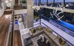 intérieur agencement original résidence de luxe