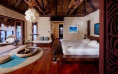 intérieur design tropical villa Laucala