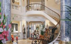 intérieur design opulent villa de luxe