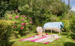 piquenique maison rustique de vacances