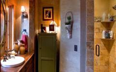 déco design salle de bains rustique