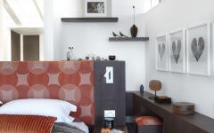 ameublement épuré chambre à coucher maison moderne