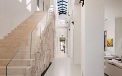 hauteur impressionnante d'intérieur maison de luxe bel air