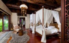 ambiance romantique villa de vacances luxe