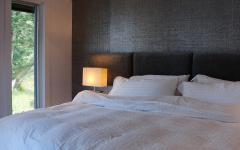 lit comfortable maison de vacances moderne