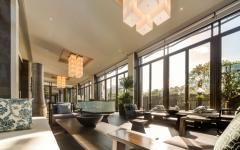 lobby immeubles aux appartements luxe