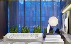 ambiance élégante luxe intérieur immeuble de prestige