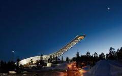 tremplin de saut à ski holmenkollen appartement